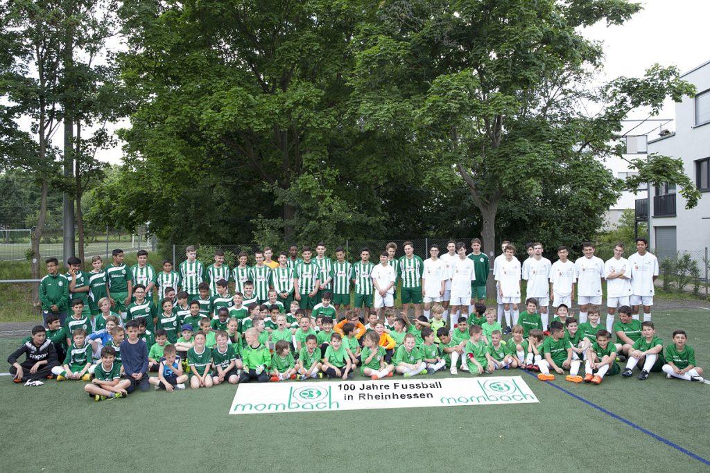 Geballte Nachwuchskraft: Alle Jugendmannschaften der 03er auf einen Blick (Foto: Gerhard Horion)
